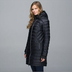 Lululemon 1x A Lady 650 Down Quilted Parka 8